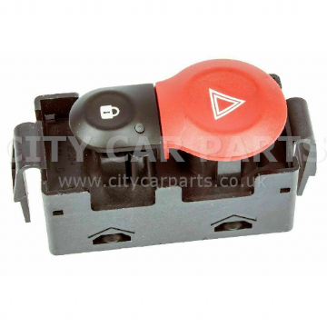 Renault Clio Mk3 Models From 2005 To 2008 Central locking Hazard Warning Switch Centre Console
